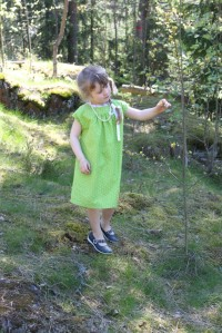 Green Ottobre dress
