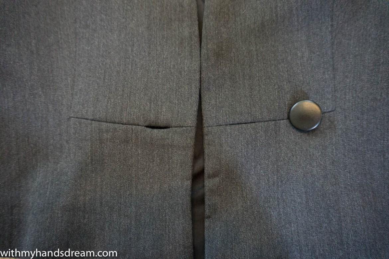Image: Burda 08/2013 106A, buttons detail